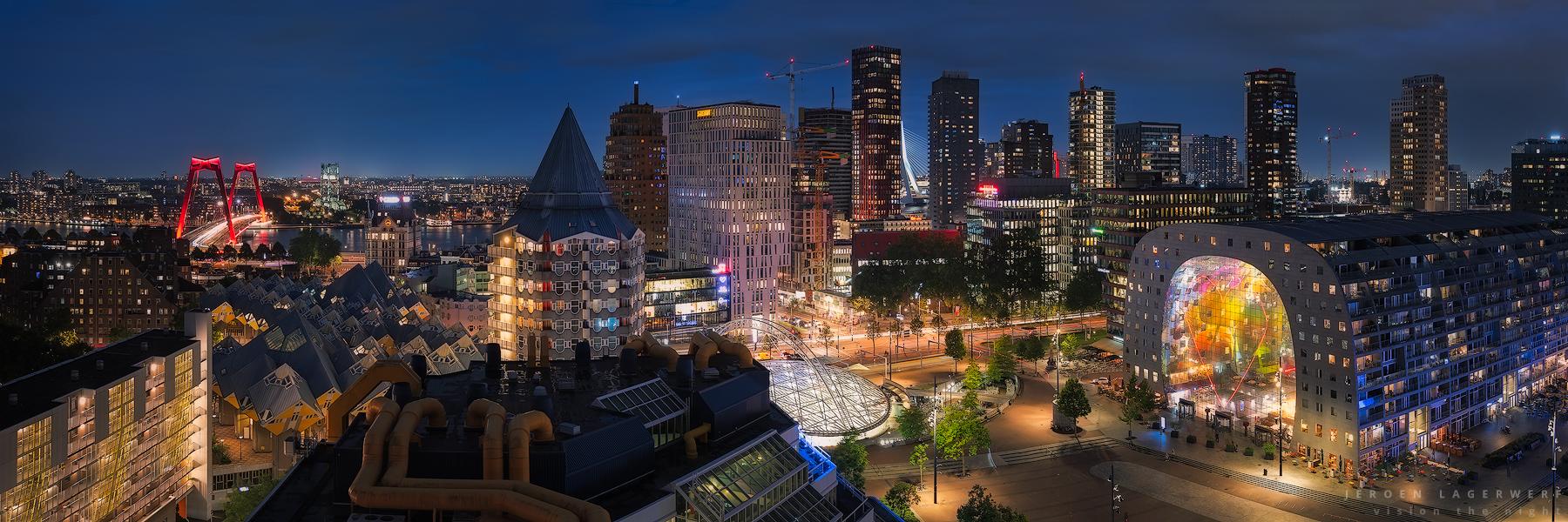 Rotterdam Blaak panorama