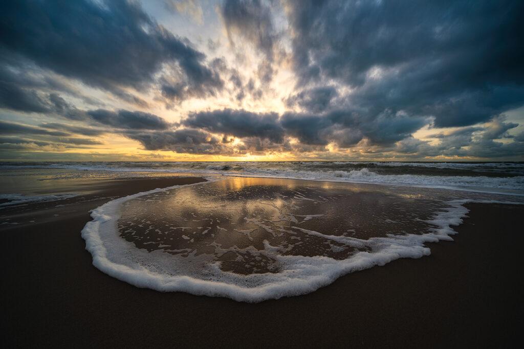 Splash - North Sea beach